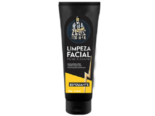 LIMPEZA FACIAL ESFOLIANTE ZEUS FOR MAN 250G