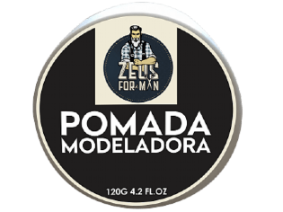 POMADA MODELADORA ZEUS FOR MAN 120G