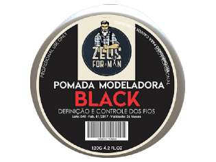 POMADA BLACK ZEUS FOR MAN 120G