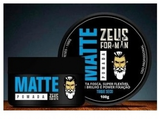 POMADA MATTE 100G ZEUS FOR MAN