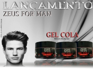 CAIXA C/36 UNIDADES DE GEL COLA ZEUS FOR MAN