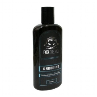 GROOMING FOX FOR MEN 240ML MODELADOR BARBA CABELO BIGODE