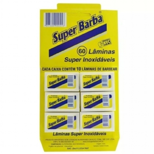 Lâmina Super Barba inox